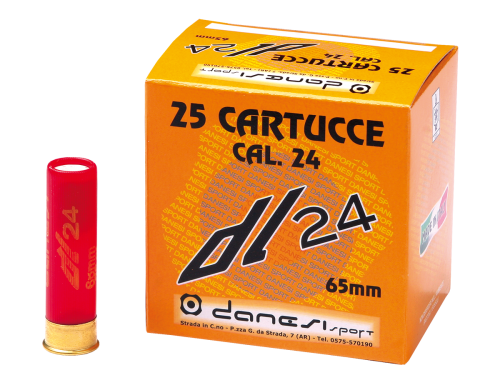 caliber 24 hunting ammunition dl24 danesi